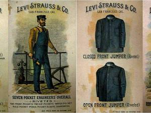 Существует 5 версий появления первых джинсов, вот одна из них: