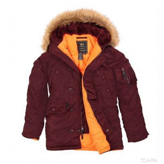 Мужская куртка Alpha Slim Fit N3B