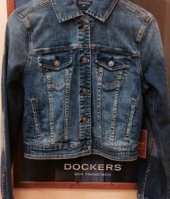 Джинсовые куртки и жилетки