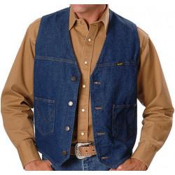 Мужской джинсовый жилет Wrangler